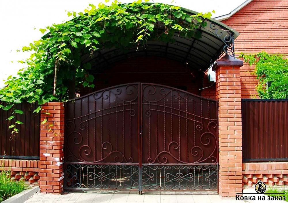ворота кованые заказать в москве