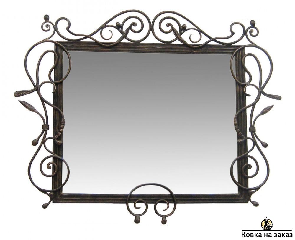 Кованое зеркало, артикул 1386, фото 1