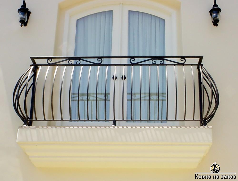 балкон фото ковка